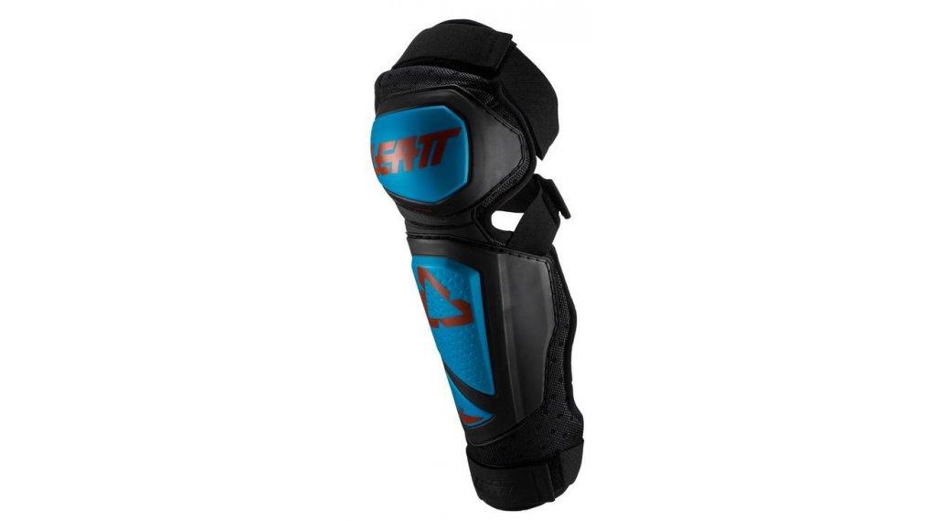Leatt 3DF Hybrid EXT 膝骨/-胫骨protektor 型号 S/M fuel/black 款型 2020