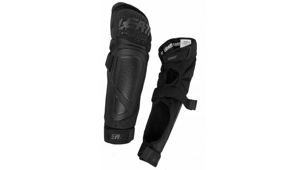 Leatt 3DF Hybrid EXT 膝骨/-胫骨protektor 型号 S/M black 款型 2020