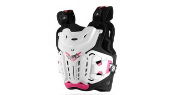 Leatt Chest protector 4.5  chest protector ladies size  unisize  white/pink