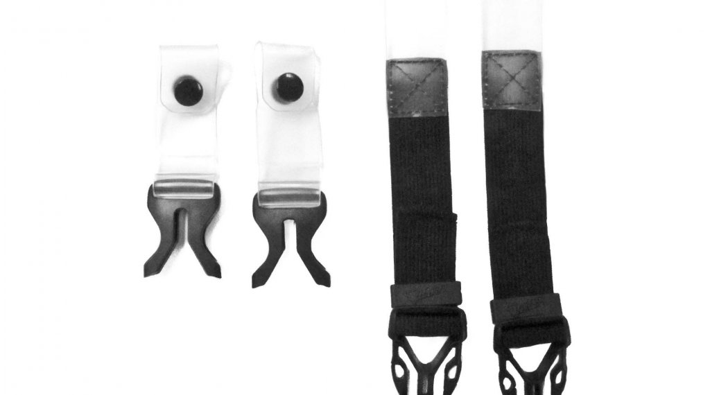 Leatt Ersatzteil Strap Pack Junior (für. 4.5/5.5/6.5) black