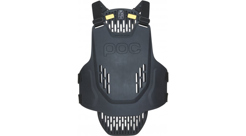 POC VPD System Brust- und Rückenprotektor Gr. S uranium black