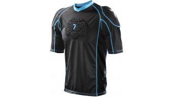 7iDP Seven Flex Protektoren T-Shirt kurzarm black Mod. 2021