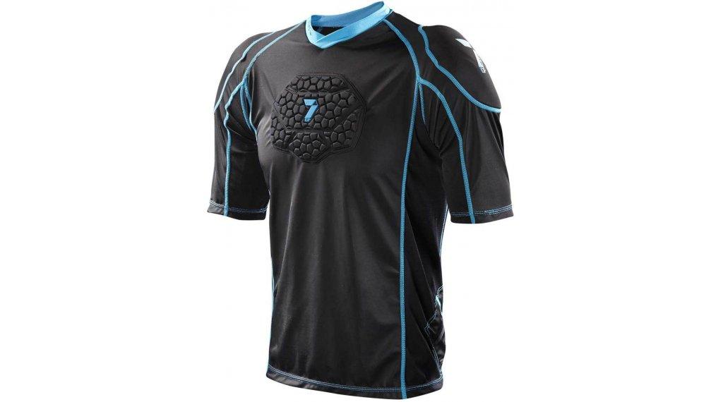 7iDP Seven Flex Protektoren T-Shirt kurzarm Kinder Gr. S/M black Mod. 2020