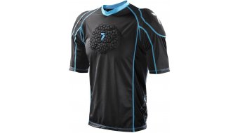 7iDP Seven Flex Protektoren T-Shirt kurzarm Kinder black Mod. 2021