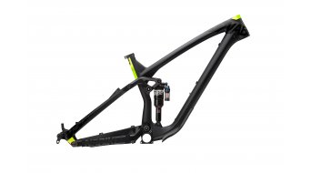 NS Bikes Snabb C carbon 27.5/650B Frame (incl. Monarch Plus RC3 Debonair) size M flat black 2017