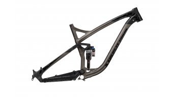 NS Bikes Snabb E 27.5/650B Frame (incl. Monarch Plus RC3 Debonair) size L black/dark raw 2017