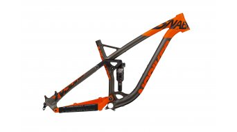 NS Bikes Snabb T 27.5/650B Frame (incl. Monarch Plus RT3 Debonair) tamaño L dark raw/fluo naranja Mod. 2017