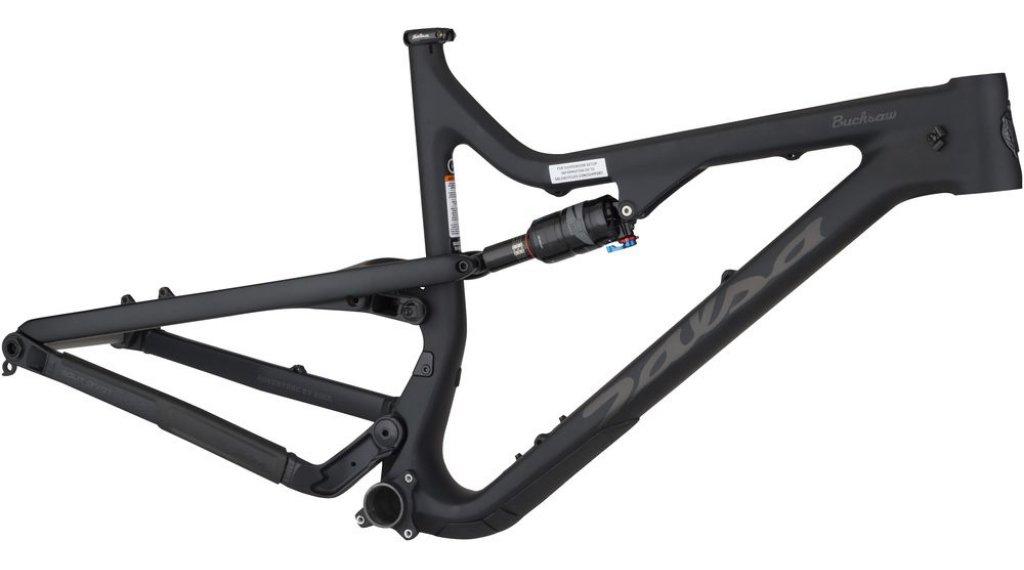 Salsa Bucksaw Carbon 26 Fat bike telaio mis. M nero/blu flake mod. 2019