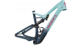 "Specialized S-Works Stumpjumper FSR Carbon 29"" / 6Fattie MTB Rahmen gloss light turquoise/tropical teal/acid pink Mod. 2018"