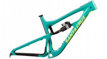 Santa Cruz Nomad 3.0 CC 27.5 frame size M gloss emerald/yellow Rock Shox Monarch Plus RC3-shock 2017