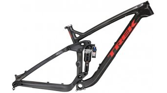 Trek Slash carbon 650B/27.5 MTB frame kit gloss to mat carbon smoke 2016