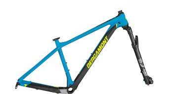 "Bergamont Revox SL Team 29"" MTB Rahmenkit cyan blue/black/neon yellow (matt) Mod. 2020"