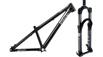 Dartmoor Two6Player 26 DJ/Park cadre taille L pearl black + Rock Shox Argyle RC Coil 26 fourche suspendue