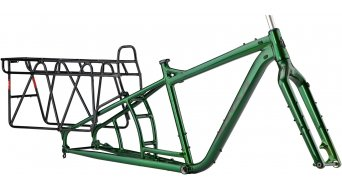 "Salsa Blackborow 26"" Fat bike frame kit size L green 2020"