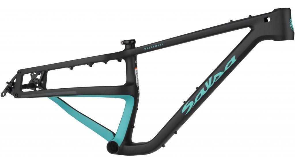 Salsa Woodsmoke carbon 27.5\'\'+/29\'\'+/29\'\' Fat bike frame kit size M ...