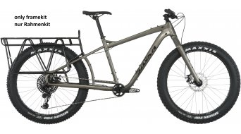 "Salsa Blackborow Mid-Wheelbase 26"" Fat bike rámový set gun metal model 2018"
