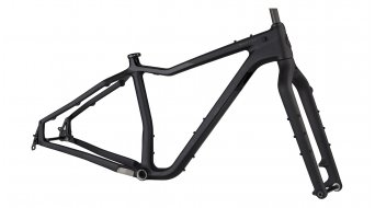 Salsa Mukluk carbon 26 Fat bike frame kit black/grey 2021