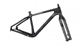 Salsa Beargrease carbon 27.5 / 26 Fat bike frame kit black/grey 2021