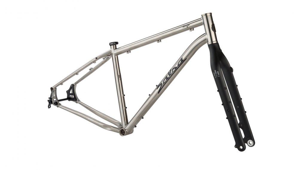 """Salsa Fargo Ti 29""""/27.5+ MTB frame kit size XS titanium 2020"""