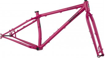 "Surly Ice Cream Truck 26"" MTB frame kit size S prickly pear sparkle red 2020"