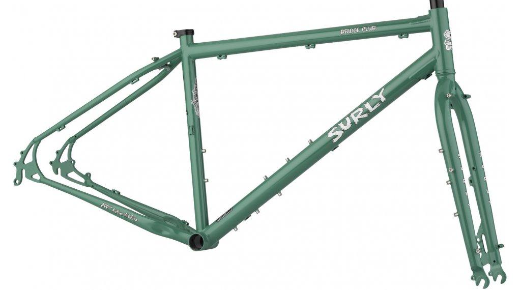 Surly Bridge Club 27.5+/26+ MTB(山地) 车架组 型号 XS illegal smile green 款型 2020