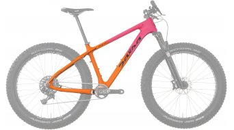 Salsa Beargrease karbon 26 Fat bike rámový set pink/orange model 2016