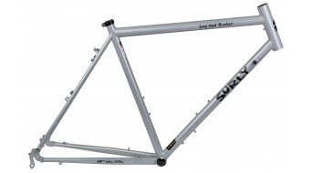 Surly Long Haul Trucker 26 frame size 52cm smog geriffic silver 2014-Demo Item- einige small scratch ! without fork!