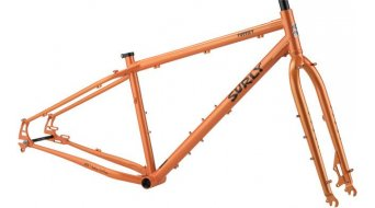 "Surly Pugsley 26"" fatbike framestel candy yam orange model 2020"