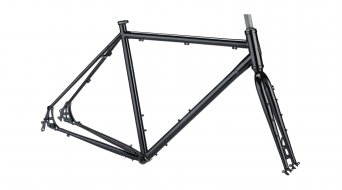 Salsa Marrakesh 28 touring bicycle frame kit black 2021
