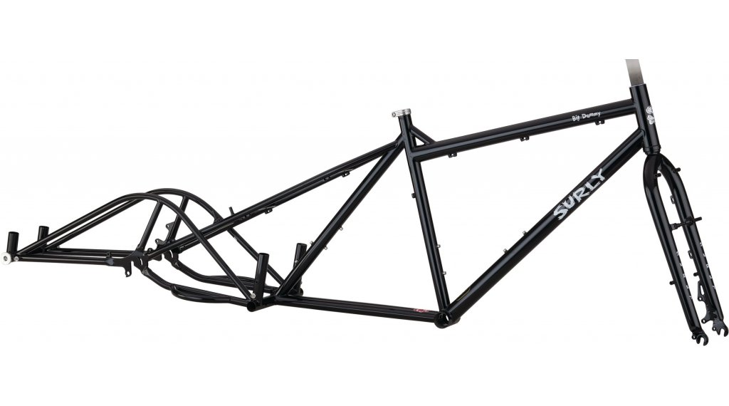 Surly Big Dummy 26 Lastenrad 车架组 型号 S black 款型 2020