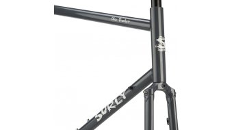 "Surly disc Trucker 26"" touring bicycle frame kit size 42cm bituminous gray 2020"