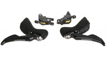 Shimano ST-RS685-R 2x11 speed shift-/brake lever with hydraulischer disc brake 1000/1700mm- lead (without disc and adapter)