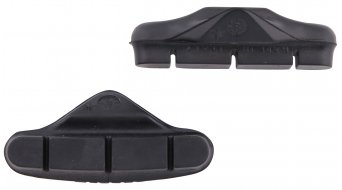 Campagnolo brake pads for aluminium-rim for Veloce/Mirage from 2007 (without screws ) black