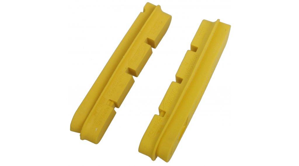 Mavic carbon CXR brake pads Campagnolo yellow (2 pcs.)