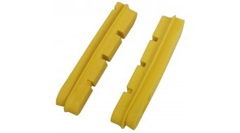 Mavic carbon CXR brake pads Campagnolo yellow (2 pcs.)