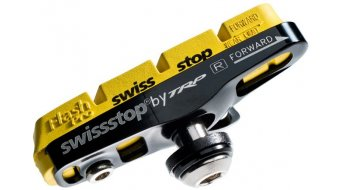 SwissStop Felgen Bremsschuhe Full Flash Pro Yellow King Shimano/SRAM für Carbon-Felgen yellow