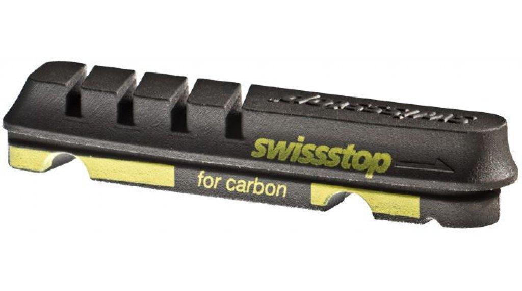 SwissStop rim brake pads Flash Evo Black Prince Shimano/SRAM for carbon-rim black (2 pair )