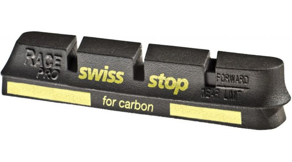 SwissStop Race Pro Felgen Bremsbeläge Black Prince Campagnolo 10/11-sp für Carbon-Felgen black