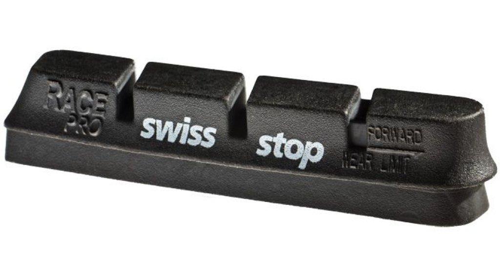 SwissStop Race Pro Original Felgen Bremsbeläge Campagnolo 10/11-sp für Alu-Felgen black