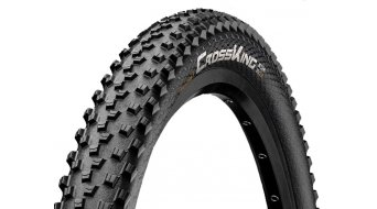 "Continental Cross King 2.0 20"" MTB-copertone 50-406 (20x2.00) ECO25 nero/nero Skin"