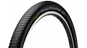"Continental Double Fighter III Sport 27.5"" MTB-Urban-copertone 50-584 (27.5x2.0) nero/nero 3/180tpi"