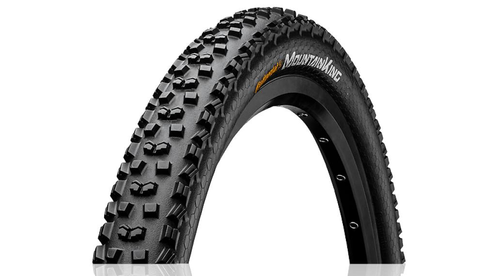 "Continental Mountain King II 2.4 Performance 29"" MTB(山地)-钢丝胎 60-622 (29 x 2.4) 黑色/黑色 Skin 3/180tpi PureGrip Compound"