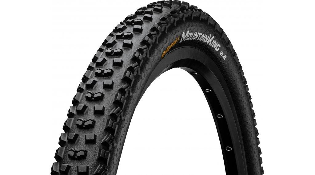 "Continental Mountain King II 2.2 Performance 29"" MTB(山地)-钢丝胎 55-622 (29 x 2.2) 黑色/黑色 Skin 3/180tpi PureGrip Compound"