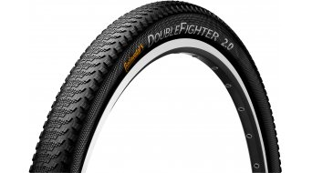 "Continental Double Fighter III Sport 26"" MTB-Urban-copertone 50-559 (26x1.9) nero/nero 3/180tpi"