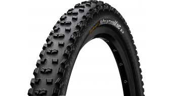 "Continental Mountain King II Performance 26"" MTB-Drahtreifen (26 x schwarz/schwarz Skin 3/180tpi PureGrip Compound"