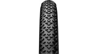 "Continental RaceKing 2.0 Performance 26"" MTB(山地)-Race-钢丝胎 50-559 (26x2.0) 黑色/黑色 Skin 3/180tpi PureGrip Compound"