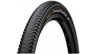 "Continental Double Fighter III 26"" Drahtreifen 50-559 (26x1.90) black/black"