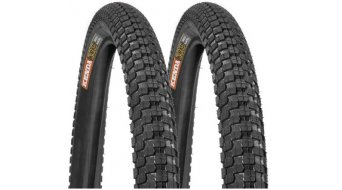 Kenda K-Rad wire tire set black, front + rear