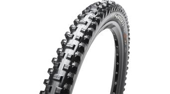 "Maxxis Shorty 27.5"" 折叠轮胎 TR+ DH(速降) 63-584 (27.5 x 2.50 WT) 3C-MaxxGrip-Compound (60DW TPI) 黑色"