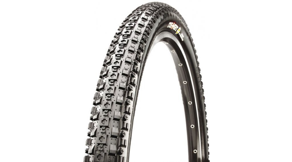 "Maxxis CrossMark 26"" Cross Country-钢丝胎 52-559 (26x2.10) (60 TPI) MPC-Compound 黑色"